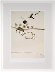 Sale 9087H - Lot 62 - John Olsen - Frog Swimming framed size 108 x 82.5cm