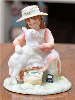 Sale 9190H - Lot 57 - A Royal Doulton figurine, Making Friends HN 3372