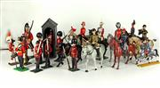 Sale 8330T - Lot 58 - Assorted Vintage Lead Soldiers; incl Britains Horse Guard, Grenadier Guards and others incl Crescent.
