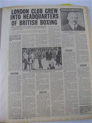 Sale 8450S - Lot 738 - Scrapbooks (2) - titled Veteran Boxers & Europe