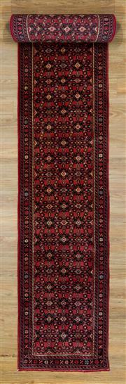 Sale 8566C - Lot 64 - Persian Husindab Runner 584cm x 74cm