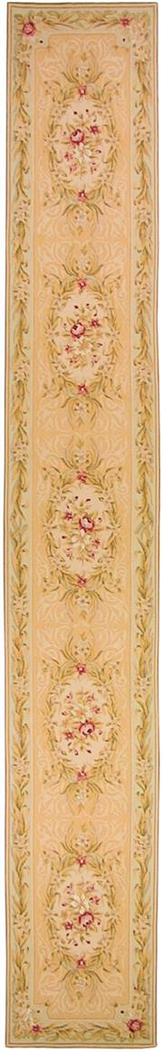 Sale 8626A - Lot 42 - A Cadrys Finely Knotted Handspun Wool Aubusson Carpet, Size; 536x77cm, RRP; $2900