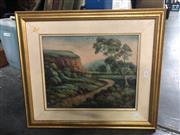 Sale 8811 - Lot 2095 - E.U. Sampson - Oil Painting - SLR