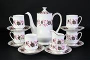 Sale 8902 - Lot 40 - A Paragon Part Tea Suite for 6 in the  Michelle Pattern