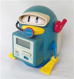Sale 9142A - Lot 5061 - Casio Computer Corp. animated Scuba Penguin Alarm Clock, c1980: first digital Penguin desk clock c1980, made in Japan (battery opera...
