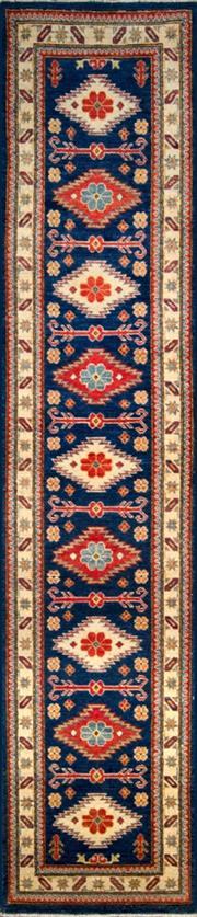 Sale 8307A - Lot 62 - Afghan Kazak 378cm x 77cm RRP $1500