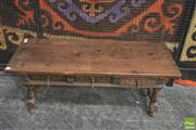 Sale 8352 - Lot 1012 - Spanish Coffee Table