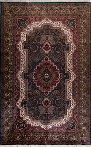 Sale 8447C - Lot 17 - Indian Silk & Wool 185cm x 285cm
