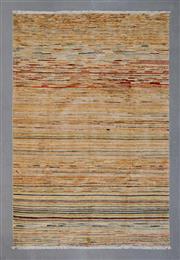 Sale 8472C - Lot 23 - Afghan Chobi Stripe 268cm x 177cm