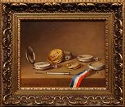 Sale 8888 - Lot 2051 - Jos Kivits (1945 - ) - Still Life 18 x 23cm