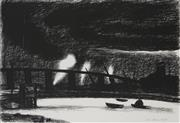 Sale 8722 - Lot 517 - Rick Amor (1948 - ) - Westgate Industrial, 1986 64 x 94.5cm