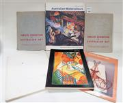Sale 8822B - Lot 762 - A small collection of catalogues incl. Jubilee exhibition of Australian Art