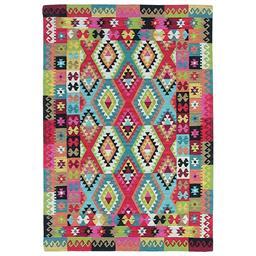 Sale 9124C - Lot 22 - Indian Maymana Kilim, 160x230cm, Handspun Wool