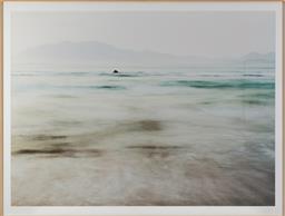 Sale 9150H - Lot 4 - A framed print of the ocean, frame size 111cm x 147cm