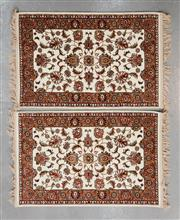 Sale 8480C - Lot 46 - 2 x Persian Machine Made Carpet 120cm x 80cm