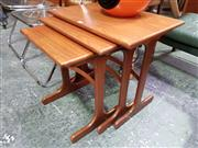 Sale 8661 - Lot 1056 - G-Plan Teak Nest of Tables