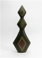 Sale 8770 - Lot 39 - Lionel Bawden (born 1974)  The Spring Tune 2003, Pencil Sculpture of graduated lozenge form, colour Staedtler pencils, epoxy resin...