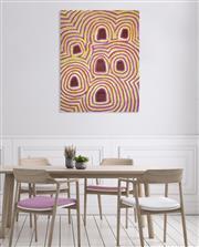 Sale 8786 - Lot 509 - Linda Napurulla Ngitjanka (1935 - ) - Sandhills 122 x 92cm