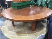 Sale 8822 - Lot 1771 - Round Timber Coffee Table