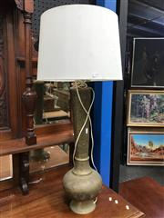 Sale 8822 - Lot 1239 - Brass Table Lamp