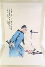 Sale 8860 - Lot 95 - A Chinese Scroll Of Bai Shi Qi