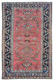 Sale 8918C - Lot 40 - Antique Cacuasian Kazak, 140x190cm, Handspun Wool