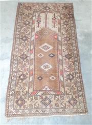 Sale 9071 - Lot 1033 - Brown Tone Woollen Rug (236 x 131cm)