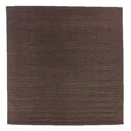 Sale 9124C - Lot 23 - India Ribbed Stripe Rug, 280x280cm, Handspun Wool & Silk