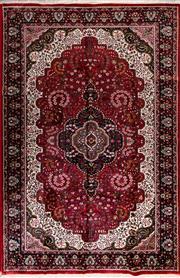 Sale 8447C - Lot 19 - Indian Silk & Wool 286cm x 187cm