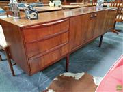 Sale 8607 - Lot 1042 - Superb McIntosh Rosewood Sideboard (H: 76 W: 213 D: 46cm)