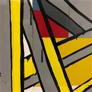 Sale 8723A - Lot 5008 - Jasper Knight (1978 - ) - The Upside Down Fire 60 x 50cm
