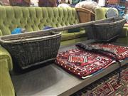Sale 8822 - Lot 1788 - Vintage Yoke with Basket Ends