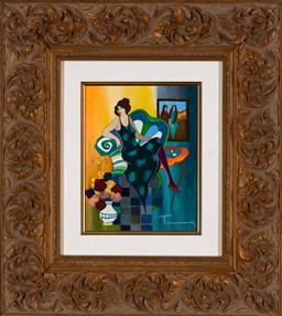 Sale 9154JM - Lot 5069 - ITZCHAK TARKAY (1935 - 2012) A Simple Time serigraph, ed. A/P 10/100 26 x 20.5 cm (frame: 56 x 51 x 5 cm) signed lower right