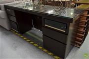 Sale 8507 - Lot 1063 - Glass Top Desk