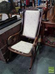 Sale 8554 - Lot 1074 - Timber Rocking Chair