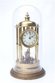 Sale 8689 - Lot 66 - Large German Dome Clock