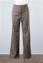 Sale 8685F - Lot 68 - A pair of Tara Jarmon mercerised cotton blend pants, approx size 10