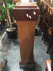 Sale 8822 - Lot 1721 - Pair of Timber Plinths
