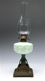 Sale 9090 - Lot 82 - A Vintage Kerosene Lantern with Flume