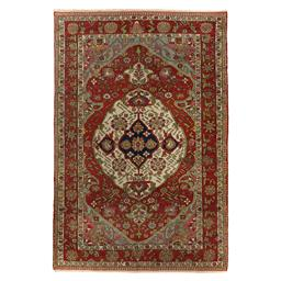 Sale 9124C - Lot 25 - Antique Persian Fine Malayer Rug, Circa 1940 ,222x147cm, Handspun Wool