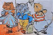 Sale 8286 - Lot 556 - David Bromley (1960 - ) - Best Friends 60 x 90cm
