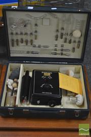 Sale 8326 - Lot 1046 - Julius Platus Electrode Boxed Doctors Set