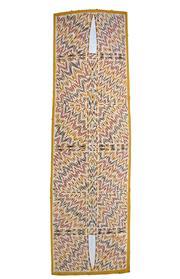 Sale 8339A - Lot 537 - Owen Yalandja (1960 - ) - Untitled 192 x 56.5cm