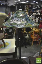 Sale 8352 - Lot 1044 - Leadlight Standard lamp