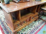Sale 8465 - Lot 1026 - Timber Entertainment Cabinet