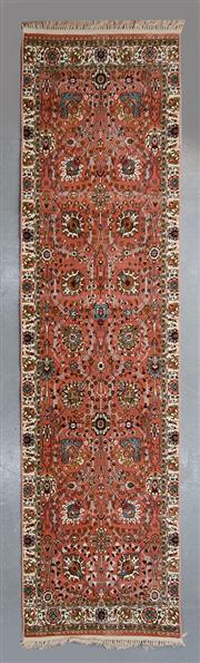 Sale 8480C - Lot 49 - Persian Machine Made Runner 400cm x 80cm