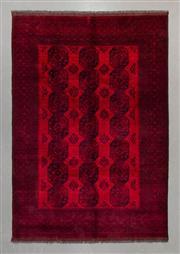 Sale 8493C - Lot 1 - Afghan Qunduzi 300cm x 200cm