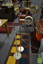 Sale 8515 - Lot 1018 - Two Similar Standard Lamps