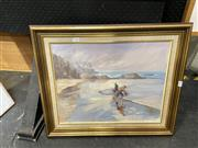 Sale 8891 - Lot 2068 - F. Fairlie - A Time to Rememberoil on canvas on board, 54 x 64cm, signed