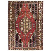 Sale 8911C - Lot 36 - Persian Antique Distressed Mazlagan Rug, Circa 1940, 190x135cm, Handspun Wool